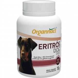 Suplemento Vitamínico Organnact Eritrós Tabs