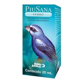 Suplemento Vitamínico PiuSana Ferro