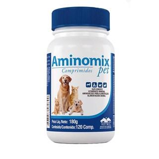 Suplemento Vitamínico  Vetnil Aminomix Pet Para Cães e Gatos 120 Comprimidos