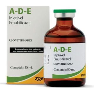 Suplemento Vitamínico Zoetis Ade Pfizer Injetável Para Bovinos. Equinos. Suínos. Caprinos e Coelhos