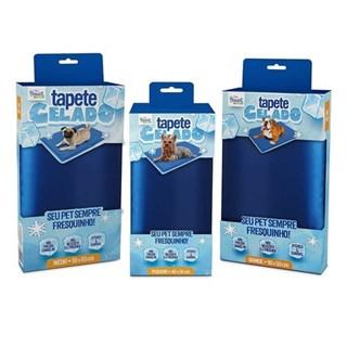 Tapete Gelado The Pets Brasil Azul