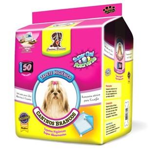 Tapete Higiênico American Pet Caninos Brancos Para Cães