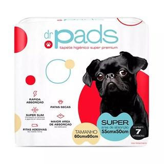 Tapete Higiênico Dr. Pads Slim 60 x 60 para Cães