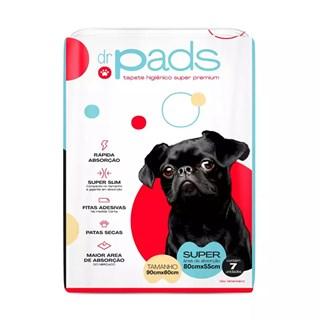 Tapete Higiênico Dr. Pads Slim 90 x 60 para Cães