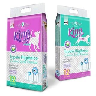 Tapete Higiênico King Pads Canino Super Premium Para Cães