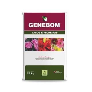 Terra Genfértil Genebom Vasos e Florais para Jardim