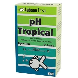 Teste Labcon Ph Tropical Para Aquarismo