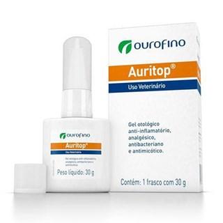 Tratamento Otológico Ourofino Auritop - 30 g