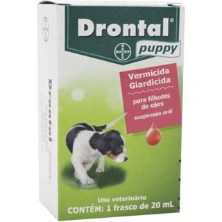 Vermífugo Bayer Drontal Puppy para Cães Filhotes