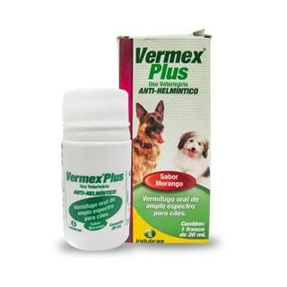 Vermífugo Indubras Vermex Plus para Cães e Gatos