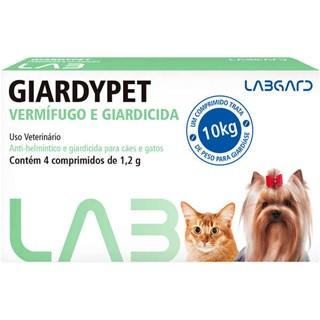 Vermífugo Labgard Giardypet para Cães e Gatos
