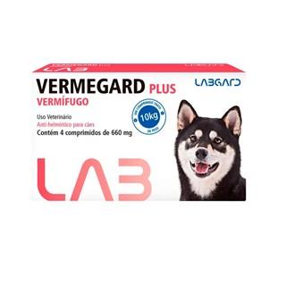Vermífugo Labgard Vermegard Plus para Cães