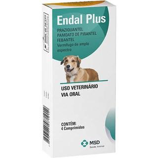 Produto Vermífugo Msd Endal Plus Para Cães