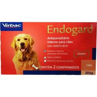 Vermifugo Virbac Endogard Para Cães De Até 30kg