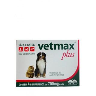 Vetmax Plus C/4 Comprimidos _ Vetnil