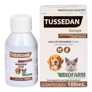 Xarope Expectorante Biofarm Tussedan Para Cães e Gatos